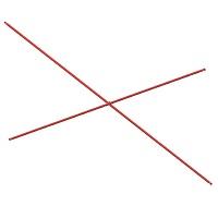 diagonal connector